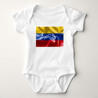 Body Combinaison du Jersey de bébé de drapeau du