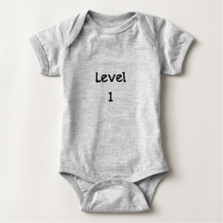 Body Combinaison du Jersey de bébé - niveau 1