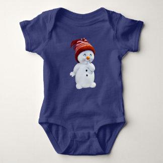 Body Combinaison du Jersey de bonhomme de neige