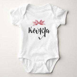 Body Combinaison grecque de bébé de Koukla