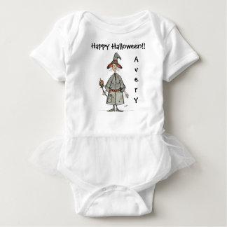 Body Combinaison heureuse de tutu de bébé de sorcière
