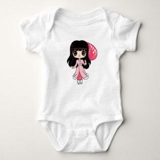 Body Combinaison japonaise du Jersey de fille de Kawaii