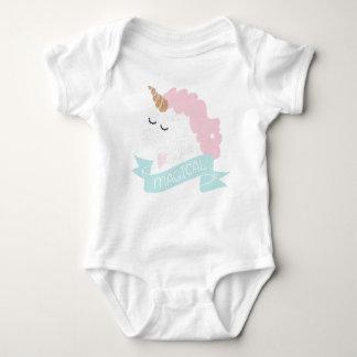 Body Combinaison magique de bébé de licorne