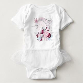 Body Combinaison rêveuse de tutu de bébé de licorne