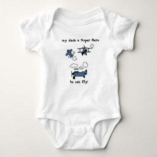 Body Combinaison secondaire de bébé de superhéros de