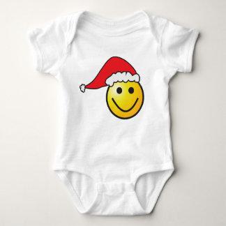 Body Combinaison souriante de bébé de Père Noël