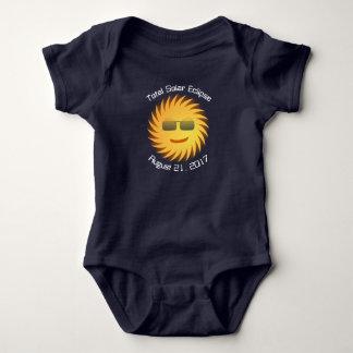 Body Combinaison totale de bébé d'éclipse solaire -