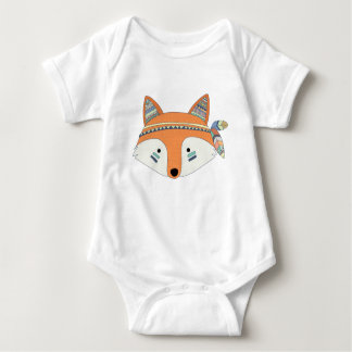 Body Combinaison tribale de bébé de Fox de Boho