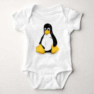 Body Combinaisons de bébé de Linux Tux