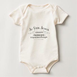 Body Conception de Typograpy de Français de tissu