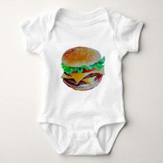Body conception d'hamburger, peinture originale