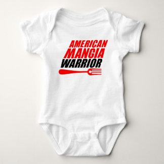 Body Costume de corps de bébé de guerrier de Mangia