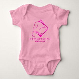 Body Costume de corps de bébé de poney de gallois