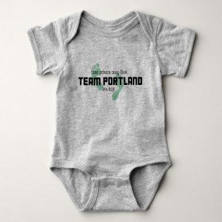Body Costume de corps de bébé de Portland 304 d'équipe