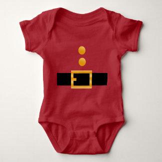 Body Costume de rouge du père noël de bébé de Noël de