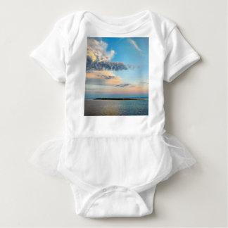 Body Coucher du soleil au-dessus de l'île