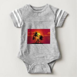 Body Coucher du soleil tropical de plage d'été de