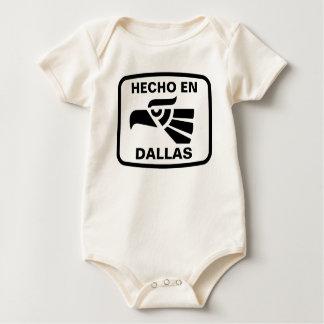 Body Coutume de personalizado d'en Dallas de Hecho