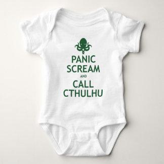 Body Cri perçant et appel Cthulhu de panique
