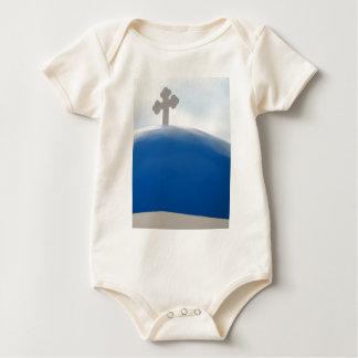 Body Croix de Santorini pendant l'après-midi Sun