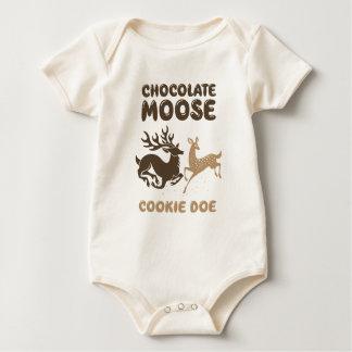 Body Daine de biscuit d'orignaux de chocolat
