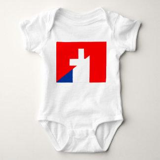 Body de Suisse de symbole de pays de drapeau de la