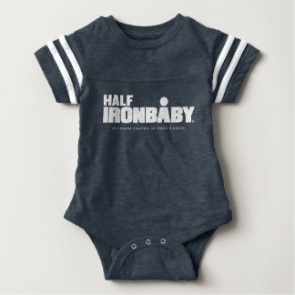 Body Demi de combinaison de sport de bébé de fer