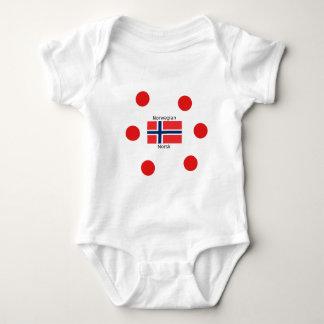 Body Drapeau de la Norvège et conception norvégienne de