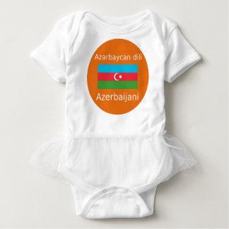 Body Drapeau de l'Azerbaïdjan et conception de langue