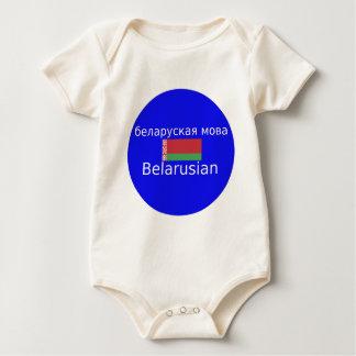 Body Drapeau du Belarus et conception de langue