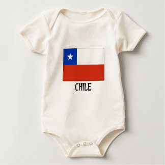 Body Drapeau du Chili