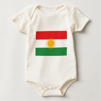 Body Drapeau du Kurdistan (le Kurdistan ou l'Alaya