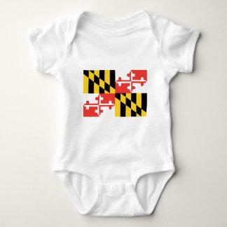 Body Drapeau officiel d'état du Maryland
