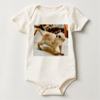 Body Écureuil moulu de bébé dans la combinaison d'Orion