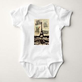 Body Eiffel Tower vintage Paris