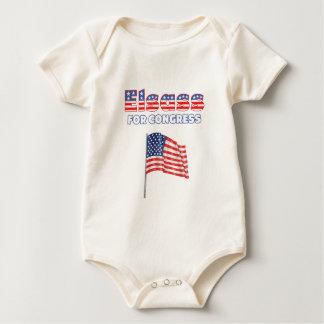 Body Elsass pour le drapeau américain patriotique du