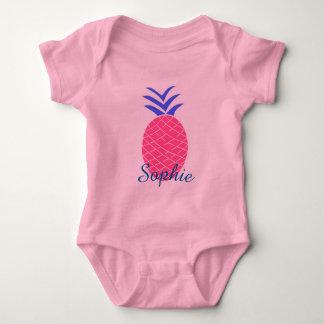 Body en jersey pour bébé, Ananas