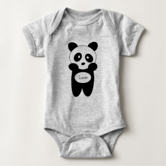 Body en jersey pour bébé, Panda bébé