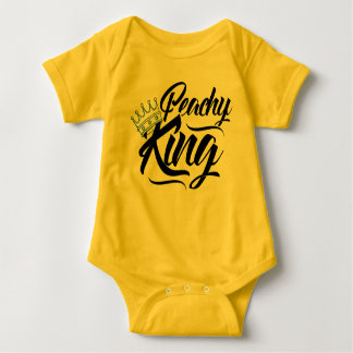 Body Équipement couleur pêche du Roi bébé