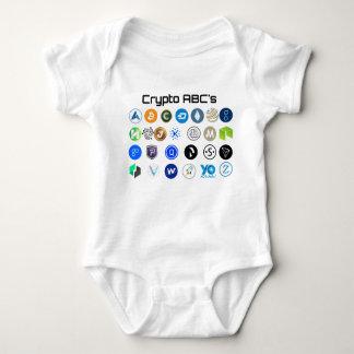Body Équipement de bébé de Cryptocurrency ABC
