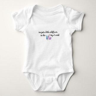 Body Équipement de bébé de fleur sauvage