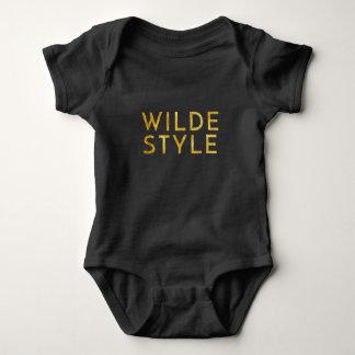 Body Équipement de bébé de style de Wilde