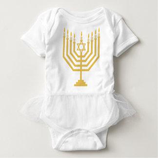 Body Équipement de tutu de bébé de Menorah