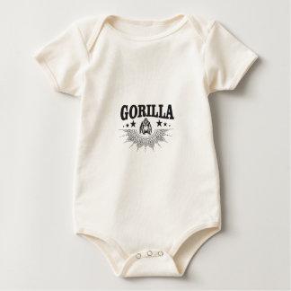 Body étiquette de gorille drôle