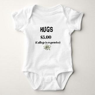 Body Étreint la combinaison de bébé