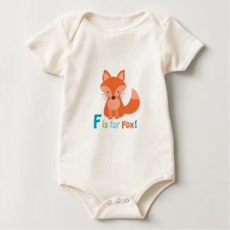 Body F adorable est pour l'équipement de bébé de Fox