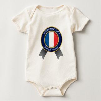 Body Fait dans le drapeau de la France, le Français