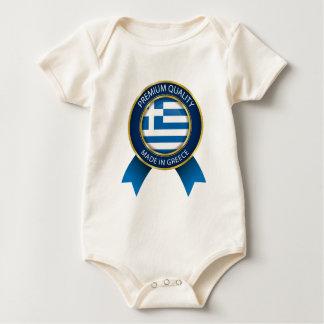 Body Fait dans le drapeau de la Grèce, tissu grec de