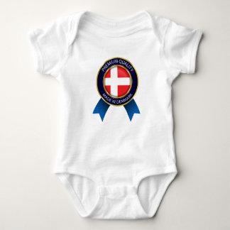 Body Fait dans le drapeau du Danemark, tissu danois de