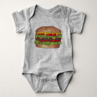 Body Fin gourmet de cheeseburger d'hamburger